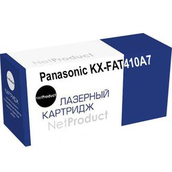 Картридж для Panasonic KX-MB1500RU, KX-MB1520RU (NetProduct KX-FAT410A7) (черный)